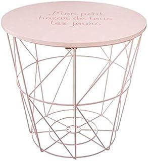 Paris Prix Atmosphera for Kids - Table d'Appoint Design Enfant Kumi 30cm Rose