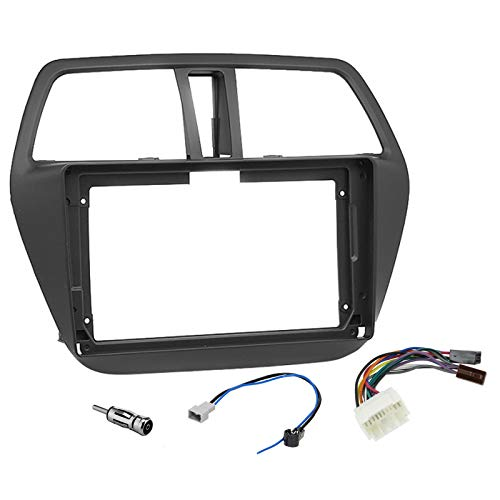Sound Way - Kit Montaggio Mascherina Adattatore autoradio 9' Pollici Compatibile con SuzukiSx4 S-Cross - KA22-438
