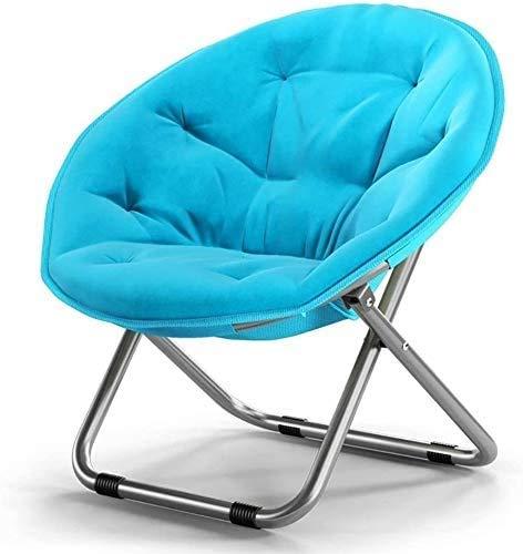 Stuhl Hocker Moon Chair Lazy Chair Rest Single Student Stuhl Siesta Bequem Schlafzimmer Klappstuhl [Energieklasse A+],B