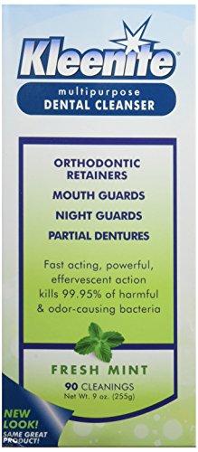 Regent Labs Kleenite, nettoyant dentaire à usages multiples, 9 onces (Pack de 4)