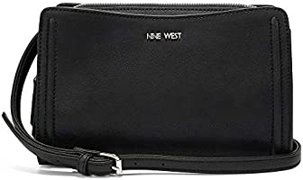 Nine West Crossbody Bag for Women - Black