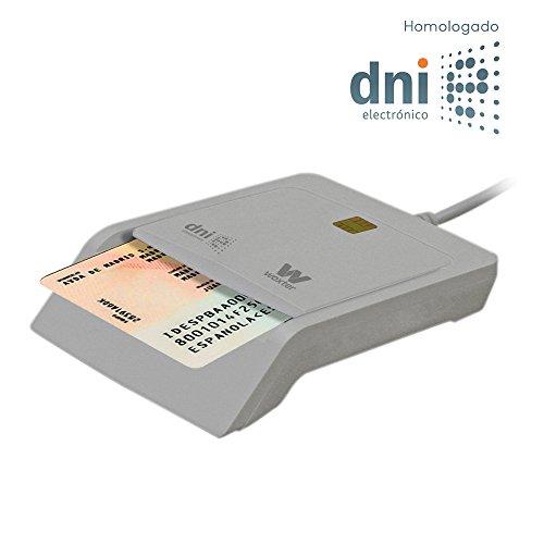 Woxter Elektronische ID Reader Weiß - elektronische ID-Leser, ID 3.0, kompatibel mit PC und MAC