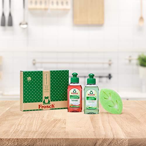 食器用洗剤リーフスポンジギフトセット