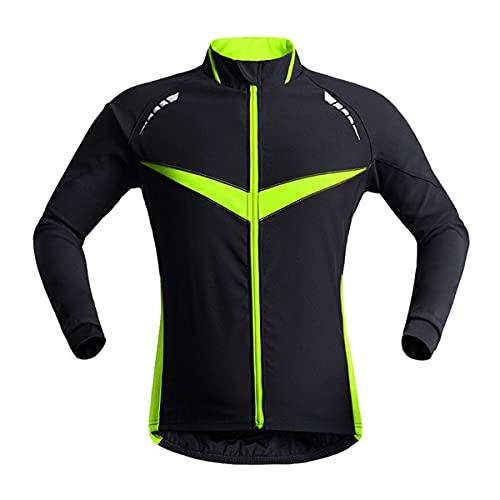 XuuSHA Chaleco de seguridad reflectante de alta visibilid Hombres Cycling Chaquetas, Ropa de ciclismo Abrigo de viento, Jersey Bike Chalecos de seguridad para hombres mujeres