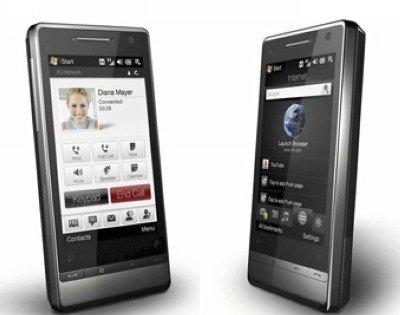 Logotrans Displayschutzfolie und Poliertuch für HTC Touch Diamond 2