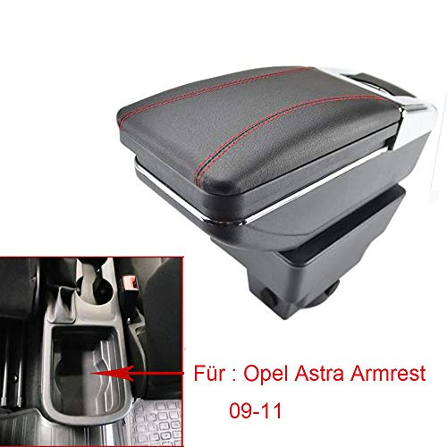 Car Armrest For Astra J 2009-2011 Armrest Rotatable Storage Box Decoration Car Styling