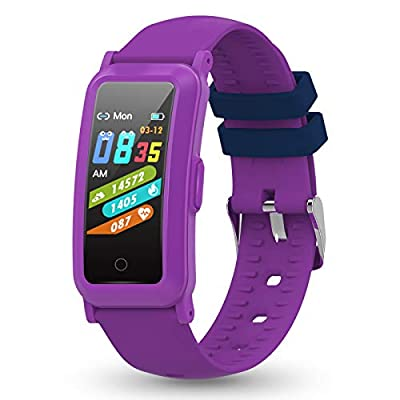 YoYoFit Kids Fitness Tracker with Heart Rate, Activity Tracker with Blood Pressure and Blood Oxygen, Health Watch with Step Counter, Calorie Counter, Sleep Monitor for Boy Girls Gift