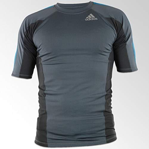 Adidas Fluid Technique Rashguard gris / azul