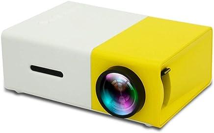 3452de5a7c BESTSUGER Projecteur vidéo HD, projecteurs de Diapositives, 1080P Portable  Mini projecteur Domestique 400 lumens