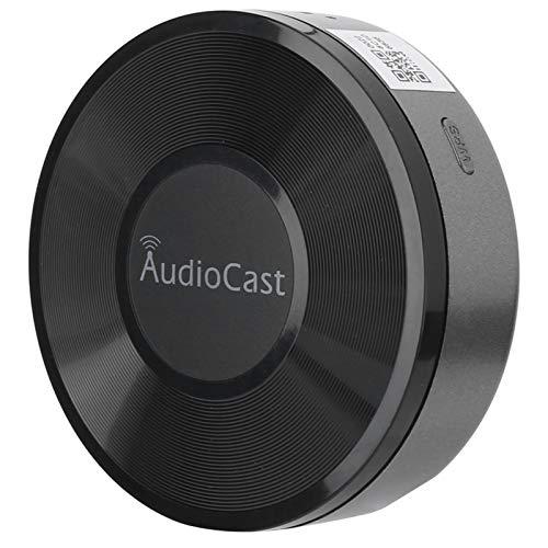 Soporte de Cambio de Nombre inalámbrico Receptor Muisc, Receptor WiFi Muisc, para Redes de Uso compartido en el hogar Aplicación de transmisión de Audio para iOS, para Audio de Auriculares
