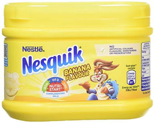 Nesquik Banana Flavour Milkshake Powder 300 g (Pack of 5)