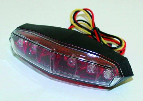 Preisvergleich Produktbild KOSO Mini Rücklicht LED rot + klar,  E-gepr.