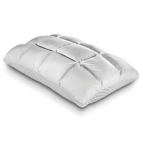 Purecare Recovery SoftCell Latex Reversible Pillow, Celliant Fibers and Reversible Latex & Down Alternative Design, Queen (PCCELLAT722)