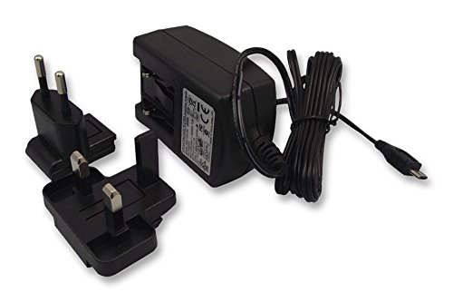 Raspberry Pi T6090DV Official 2. 5 A 5. 1 V Power Supply for Model B/UK & EU Plug