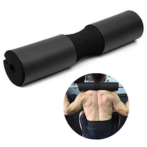 Advanced Squat Pad - Hantelpolster Squats, Lunges & Hip Thrusts - Nacken- und Schulterprotektoren, Schwarz