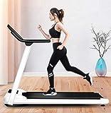 YIERMA YIERMACinta de correr portátil, 3.5 Hp plegable cintas de correr para el hogar, audio Bluetooth, máquina de correr eléctrica, carga 130 kg, CE/FCC/CCC