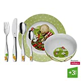WMF Pitzelpatz - Vajilla para niños 6 piezas, incluye plato, cuenco y...