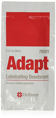 Hollister Adapt Lubricating Deodorant Packet, 50 Count