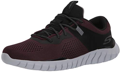 Skechers Mens Overhaul-Ryniss Comfort Gym Running Shoes Purple 10.5 Medium (D)