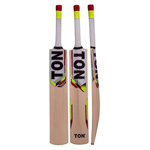 SS TON Tennis Tape Ball Cricket Bat Sunridges with Free Bat Cover - Latest 2016-2017 Bat (Short Handle)