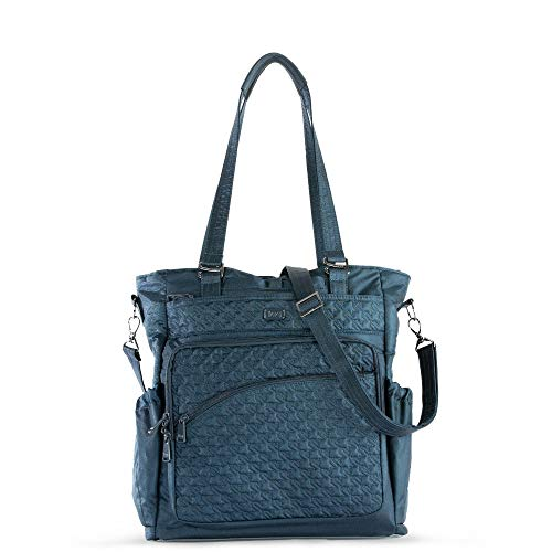 Lug Women's Ace 2 Convertible Travel Tote, Shimmer Navy, One Size