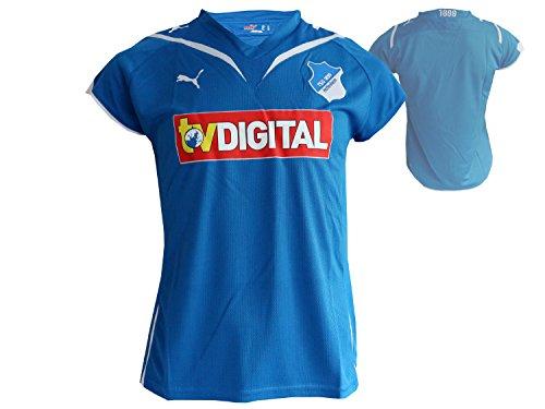 PUMA TSG Hoffenheim Domicile Maillot Replica-Femmes S Bleu - Bleu/Blanc