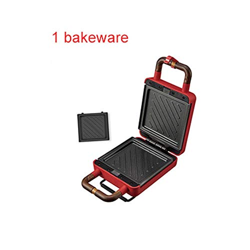 Best Review Of Sandwich maker with removable plates Waffle Machine Breakfast Machine Light Food Mach...