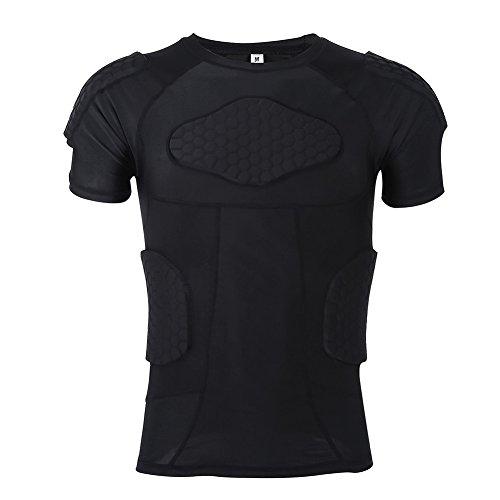 V GEBY Schutzhose, gepolsterte Hose, Herren, Sport-Kompression, gepolstert, Sportausrüstung für Snowboard, Skate und Ski, m