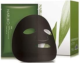 Naruko Tea Tree Shine Control and Blemish Clear Mask, 8 Count