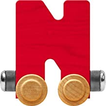 product image for Maple Landmark NameTrain Bright Letter Car N - Made in USA (Red)