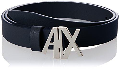 A|X Armani Exchange - Cinturón con hebilla para mujer
