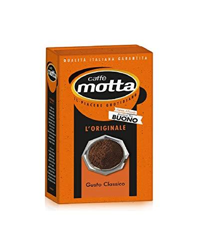 8x Motta L'Intenso Caffè für Mokka Kaffee gemahlen Italienisch Espresso 250g