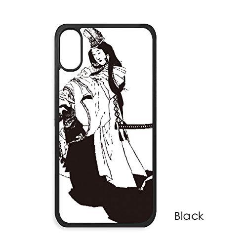 beatChong Japan Zwart Kimono Illustratie Voor iPhone X Cases Phonecase Apple Cover Case Gift
