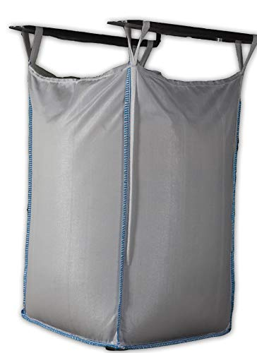 FERRPACK Big Bags 10 PZ X Sacconi Misure 90X90H120 Cm Portata 1000 kg per Materiali generici non pericolosi