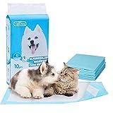 Nobleza - 100 x Empapadores Perros Alfombrilla higiénica de Entrenamiento para Perros para Mascotas con Pegatinas de Cinta Adhesiva, Ultraabsorbente 90cm*60cm