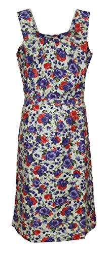 Schuerzenfabrik Kleid Hauskleid Gartenkleid Strandkleid Sommerkleid, Größe:60, Modell:Modell 2