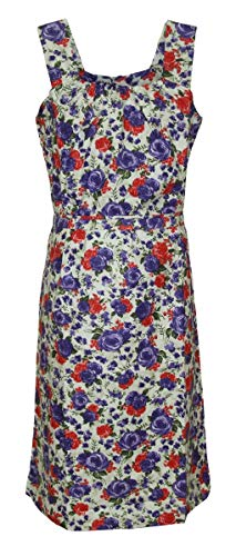 Schuerzenfabrik Kleid Hauskleid Gartenkleid Strandkleid Sommerkleid, Größe:58, Modell:Modell 2