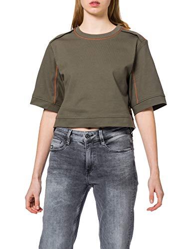 G-STAR RAW Womens Boxy Fit Loose T-Shirt, Combat C673-723, S