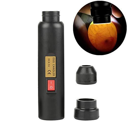 Filfeel Ei Candler Test Lampe, LED-Licht Candling Torch Eier Embryo Fertile Tester Auto Mini Beleuchtung Inkubator Zubehör für Experiment exklusiv