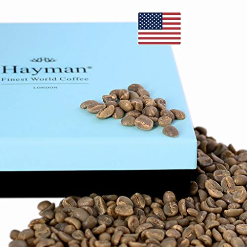100% Hawaii Kona coffee - Unroasted coffee beans - One of the world's best coffees, fresh from the latest crop! (3.5oz/100g Box)