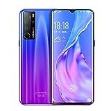 Smartphone, P40 Großbild-Fingerabdruck entsperren Mobiltelefon 12 + 256G, 6,58-Zoll-Tau-Bildschirm...