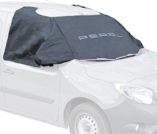 PEARL Autoscheibenabdeckung: Anti-EIS-Kfz-Scheibenabdeckung, Magnet-Fixierung, 270 x 94 cm (Autoabdeckung mit Magnet)