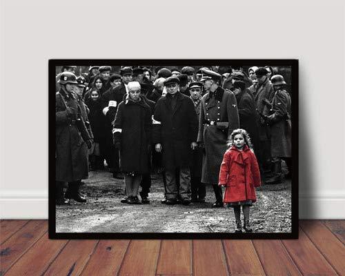Quadro Filme A Lista De Schindler Poster Com Moldura