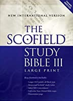 Scofield Study Bible III: New International Version, Burgandy Bonded Leather