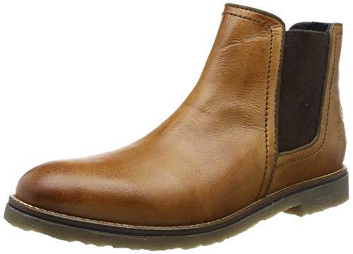 bugatti Herren 321816302100 Klassische Stiefel Kurzschaft Stiefel , Braun , 44 EU