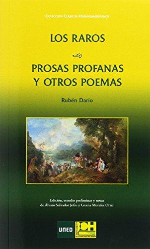 LOS RAROS. PROSAS PROFANAS  Y OTROS POEMAS