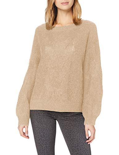 ESPRIT Damen 100EE1I312 Pullover, 274/BEIGE 5, M