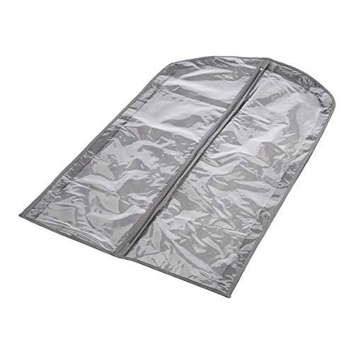 Amazon Basics Sacos de tecido, cinza - Pacote com 5