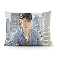 2021 三浦春馬 ( Miura Haruma /みうら はるま) ファッショナブルな個性両面印刷枕カバー綿 柔らかい枕カバー66x50cm
