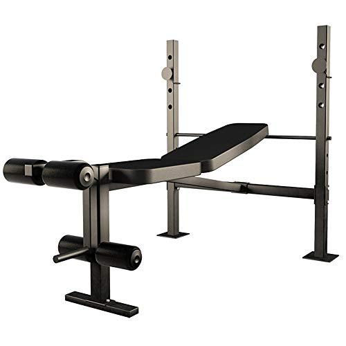 NIBABA Attrezzature per Il Fitness Indoor Banco Portatile Resistente for Il Peso Portatile for la casa e la Palestra Pratico...